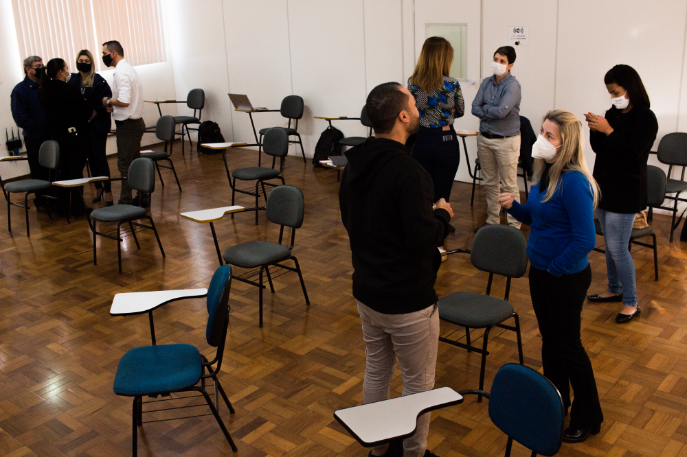Representantes discutem sobre os processos durante a pandemia
